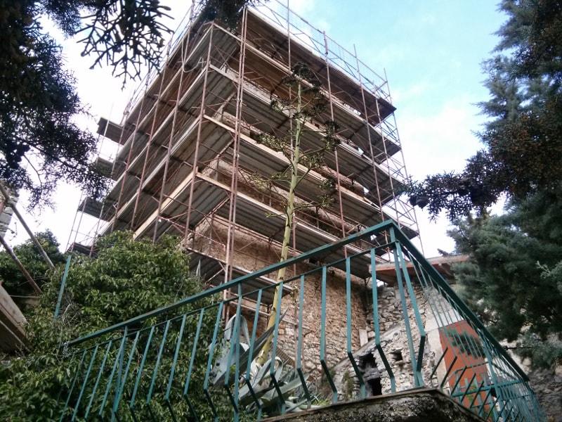 Castello di Terria Ferentillo impresa flamini