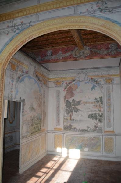 affreschi villa setacci terni