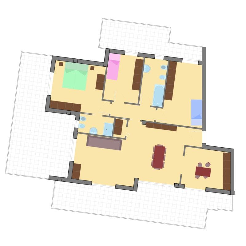 appartamenti gabelletta terni attico via omega