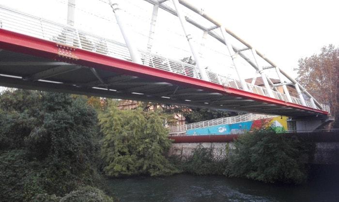 ponte pedonale terni via lungonera