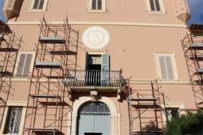 rifacimento facciata villa setacci terni