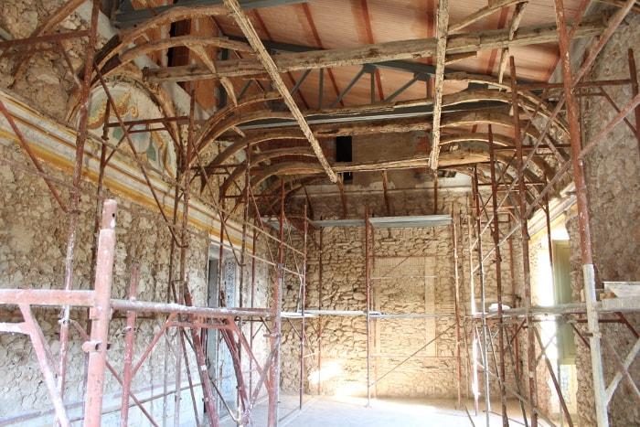 ristrutturazione villa setacci