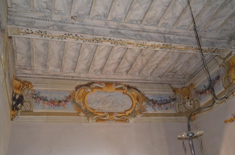 soffitto villa setacci terni
