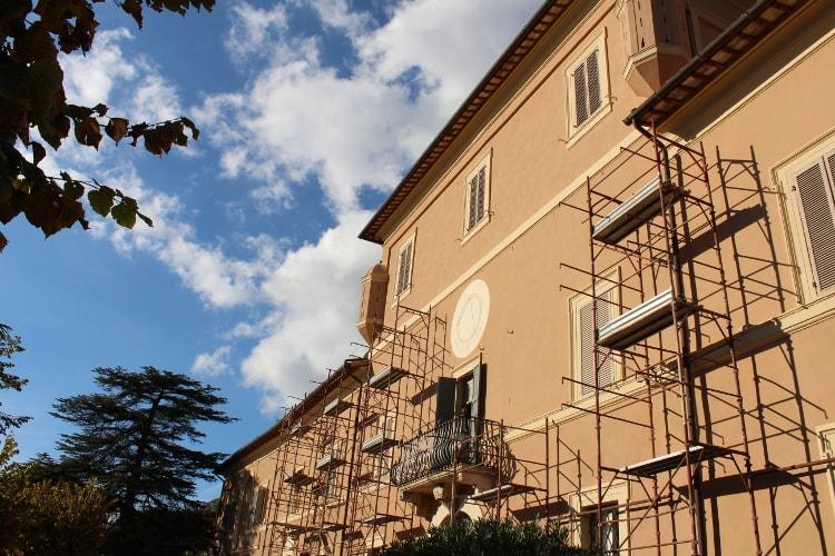 villa setacci terni ristrutturazione flamini